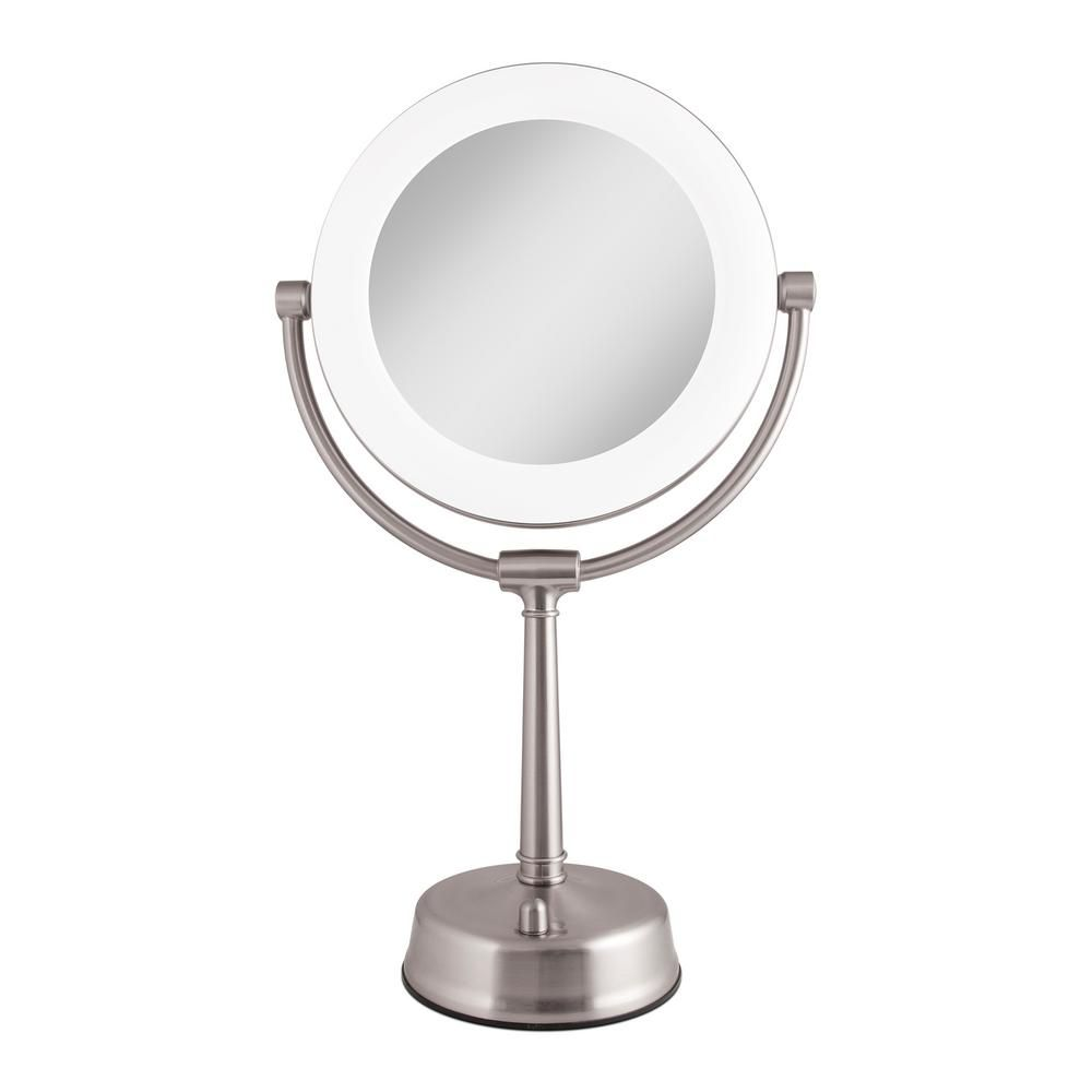 Zadro 6 25 In X 20 75 In Surround Lighted Make Up Mirror In