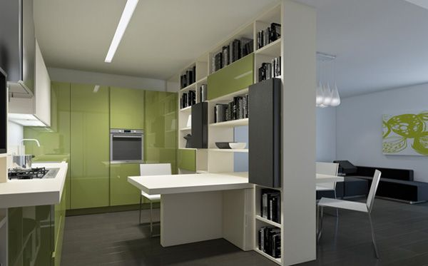 Italian Transformable Furniture For Kitchen