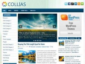 Collias WordPress theme