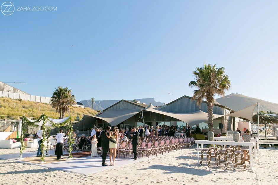The Grand Beach Cafe Venue Cape Town Wedding Venues