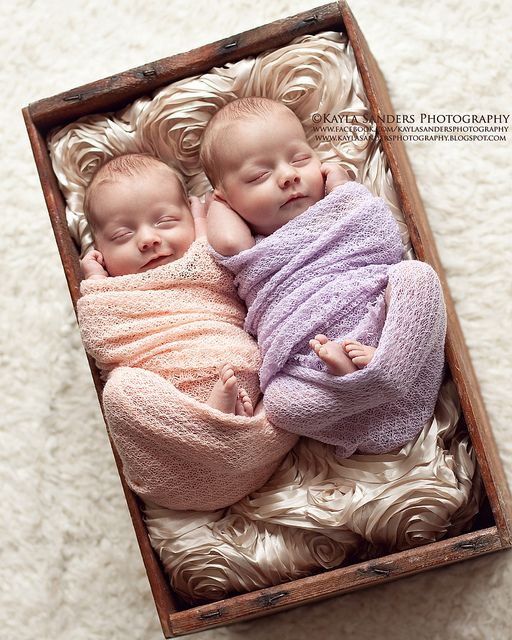 Twins ~ 3 weeks old ~ 5.5 lbs each  I am having baby fever