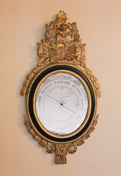 Antique French Barometer 18th century  #barometer #antique