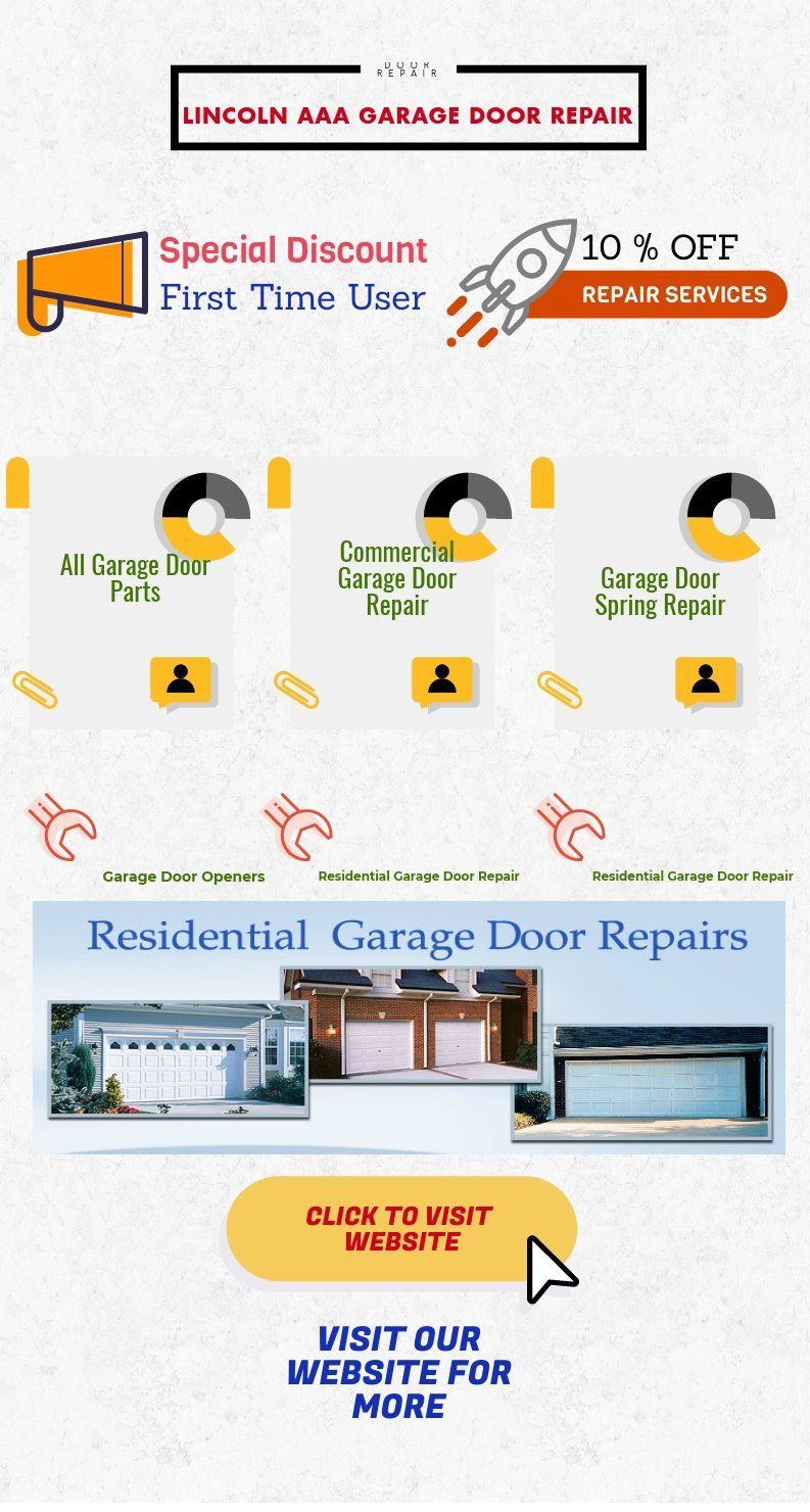 #Garage_door_repair_Lincoln Tips To Maintain Your Garage Door. How To Check  The Quality Of Your