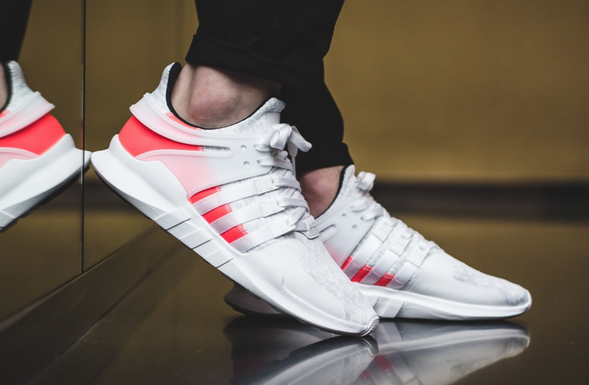 The adidas EQT Support ADV Crystal White Turbo Red Releases Tomorrow