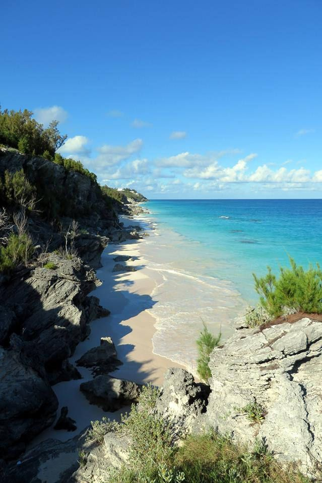 Ryan Tacklin Looking East Towards Marley Beach From Astwood Park Bermuda