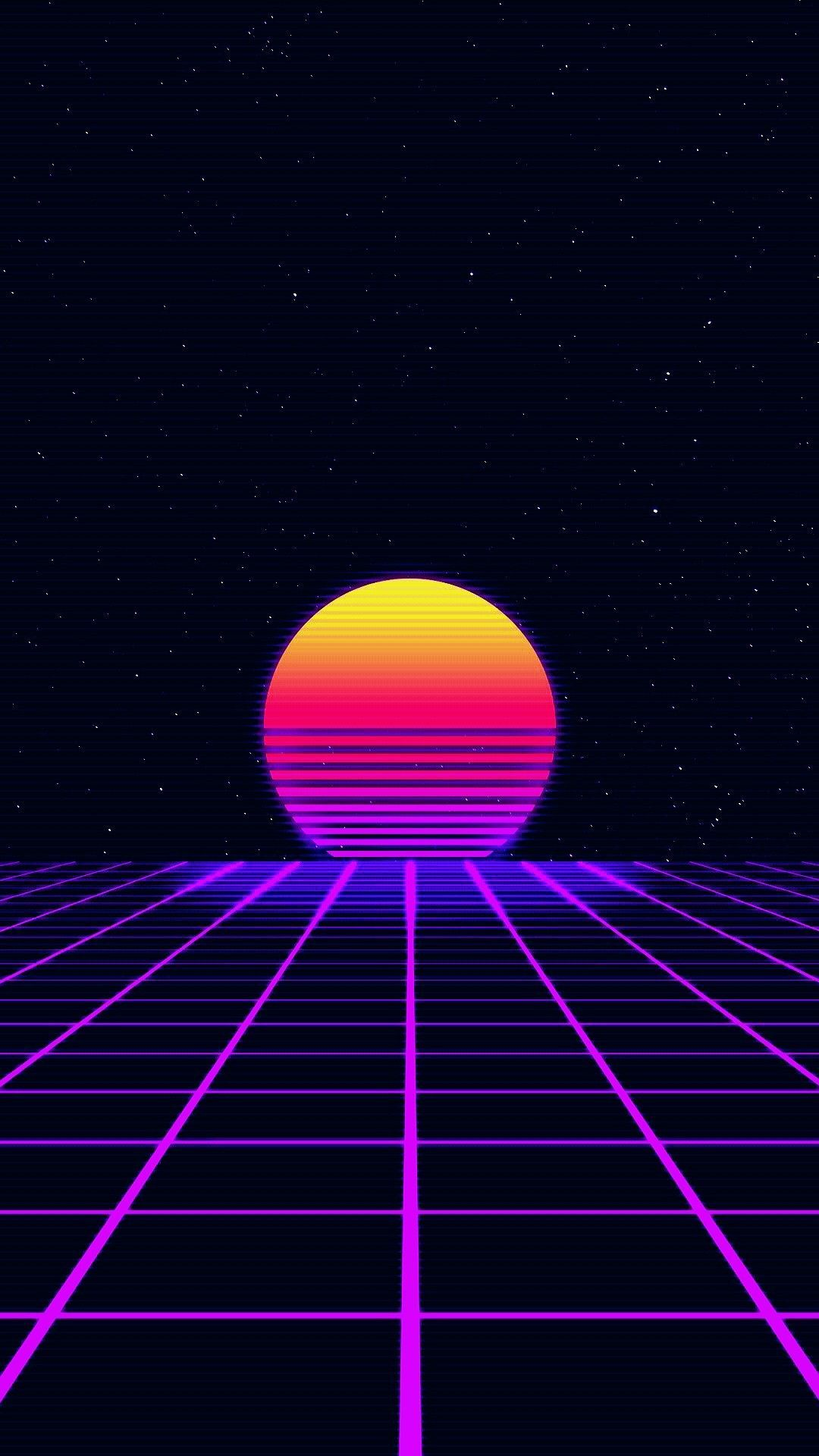 80s Art Neon Vaporwave Wallpaper Neon Wallpaper Synthwave Art