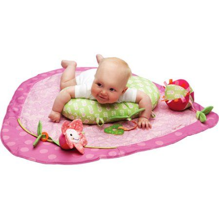 Boppy   Activity Play Mat, Daisy Dot, Pink