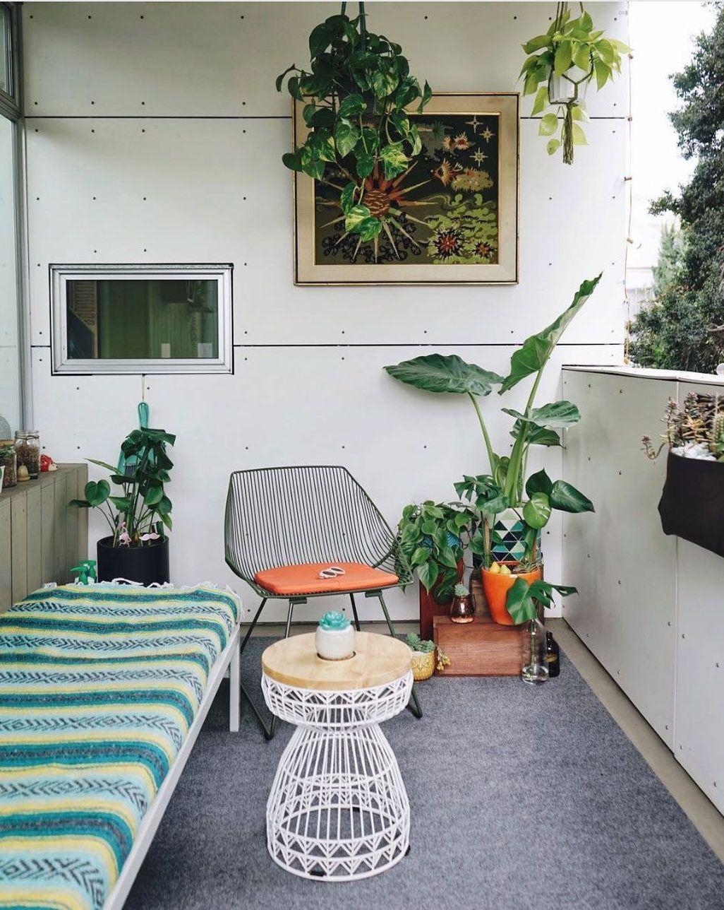 Elegant And Cozy Balcony Ideas Outdoor Garden