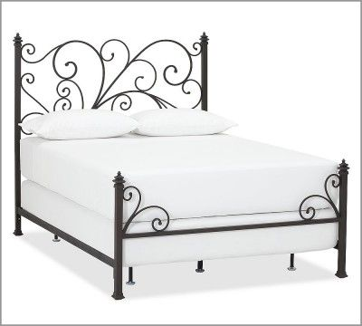 Avery Cast Iron Headboard Pottery Barn Camas Dormitorios