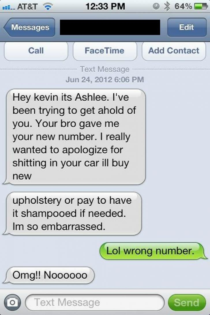 Funny Texts Wrong Number, Funny Wrong, Hilarious Texts, That's Funny, Sooo  Funny