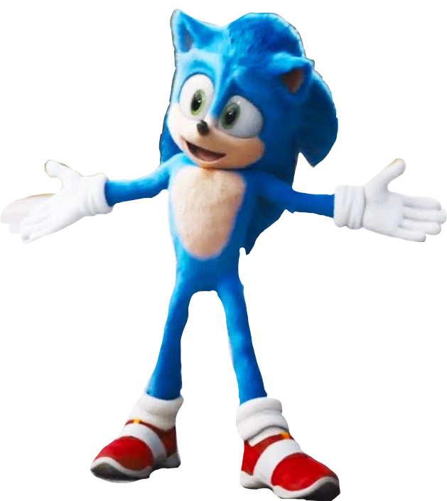 Sonic Movie Redesign Png By Mrinkdemonyt On Deviantart Sonic Sonic Movie Redesign Sonic The Hedgehog