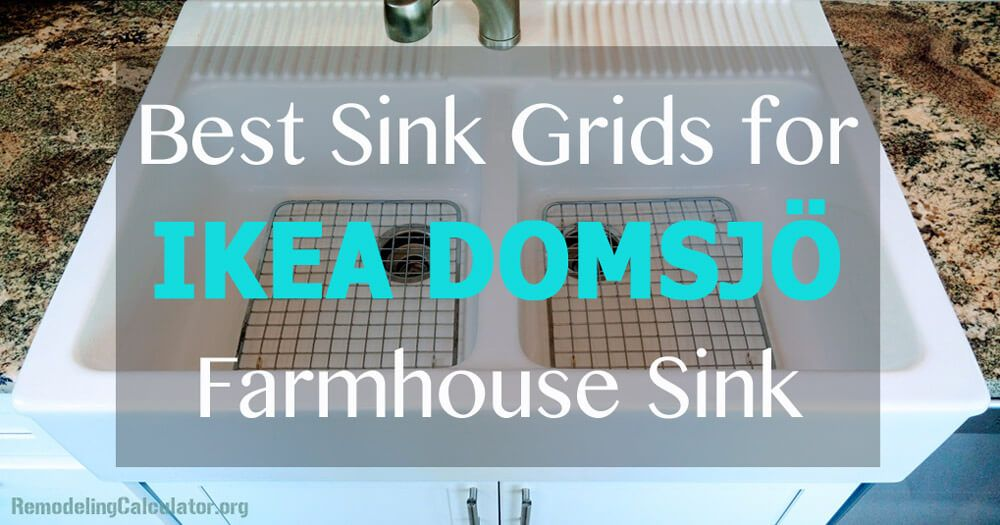Best Sink Grids For Ikea Domsjo Farmhouse Sink With Images