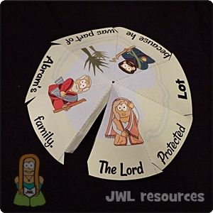 Lot Genesis 13 Craft 1 Jesus Without Language Bible Crafts Bible School Crafts Bible Crafts For Kids