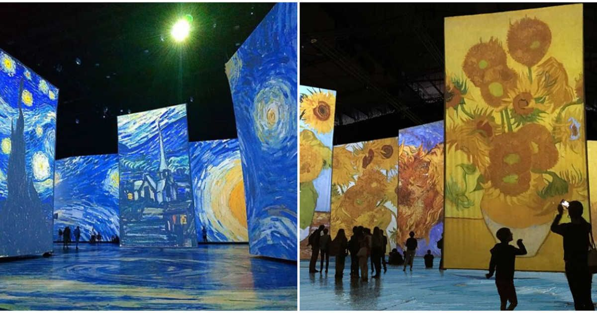 Tickets To Montreal S Incredible Walk Through Van Gogh Exhibit Are Now On Sale Van Gogh Exhibition Van Gogh Gogh