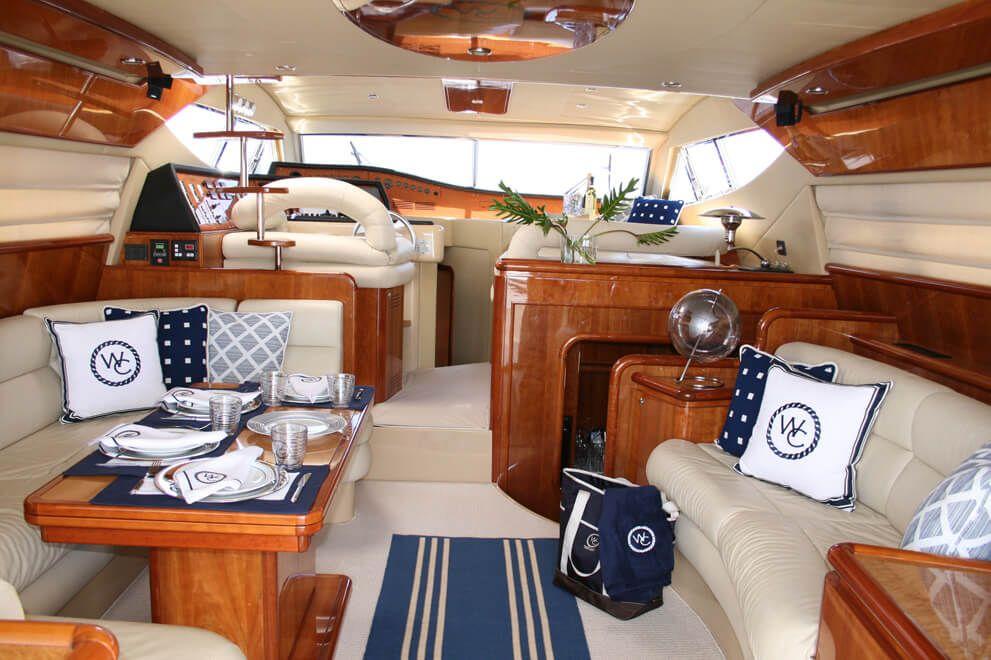 Ferretti Yacht S B Long Interiors Yacht Interior Design