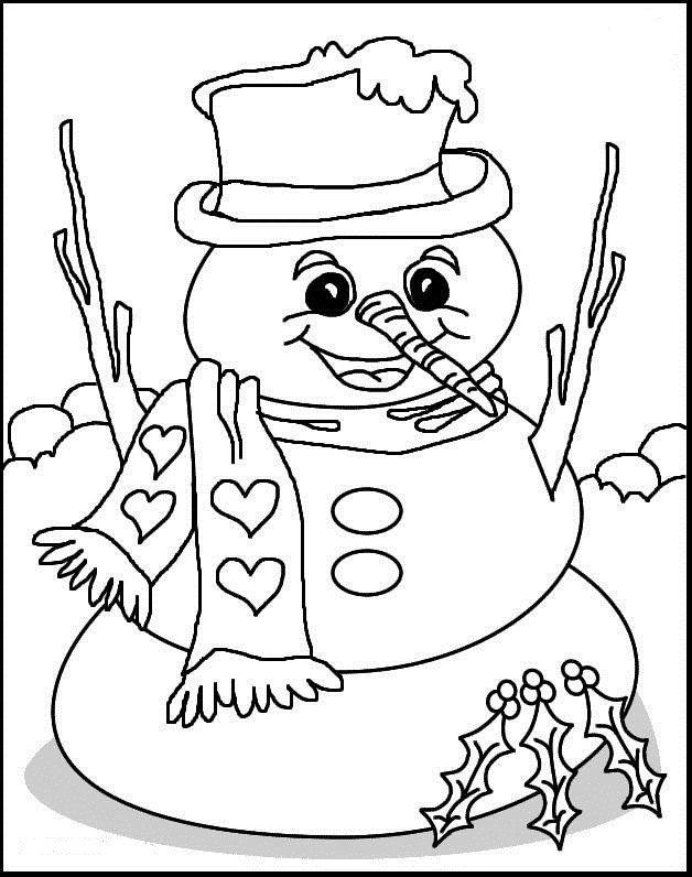 bild-weihnachten-ausmalbilder-5 (628×796) | kostenlose