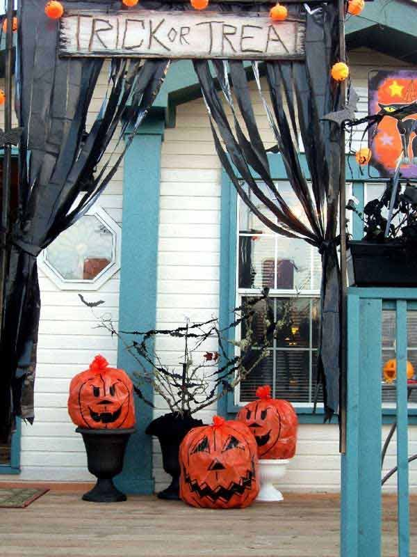 41 Diy Halloween Decorations Outdoor Scary Cheap #halloweendecorationsoutdoor