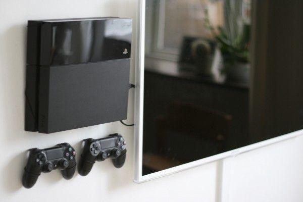 v gbeslag til playstation ps4 pinterest wohnen wohnzimmer und deko. Black Bedroom Furniture Sets. Home Design Ideas