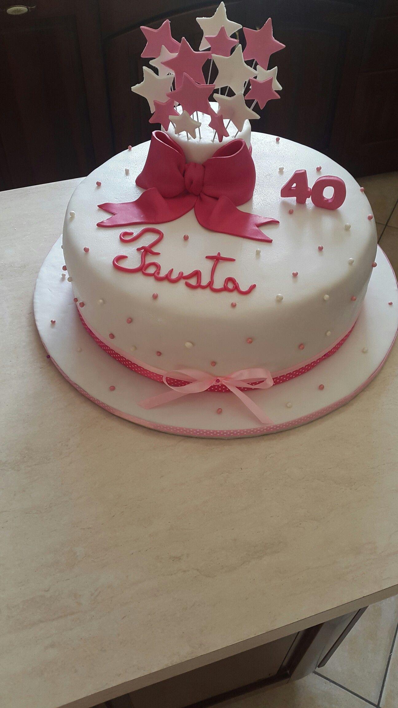torta compleanno 40 anni