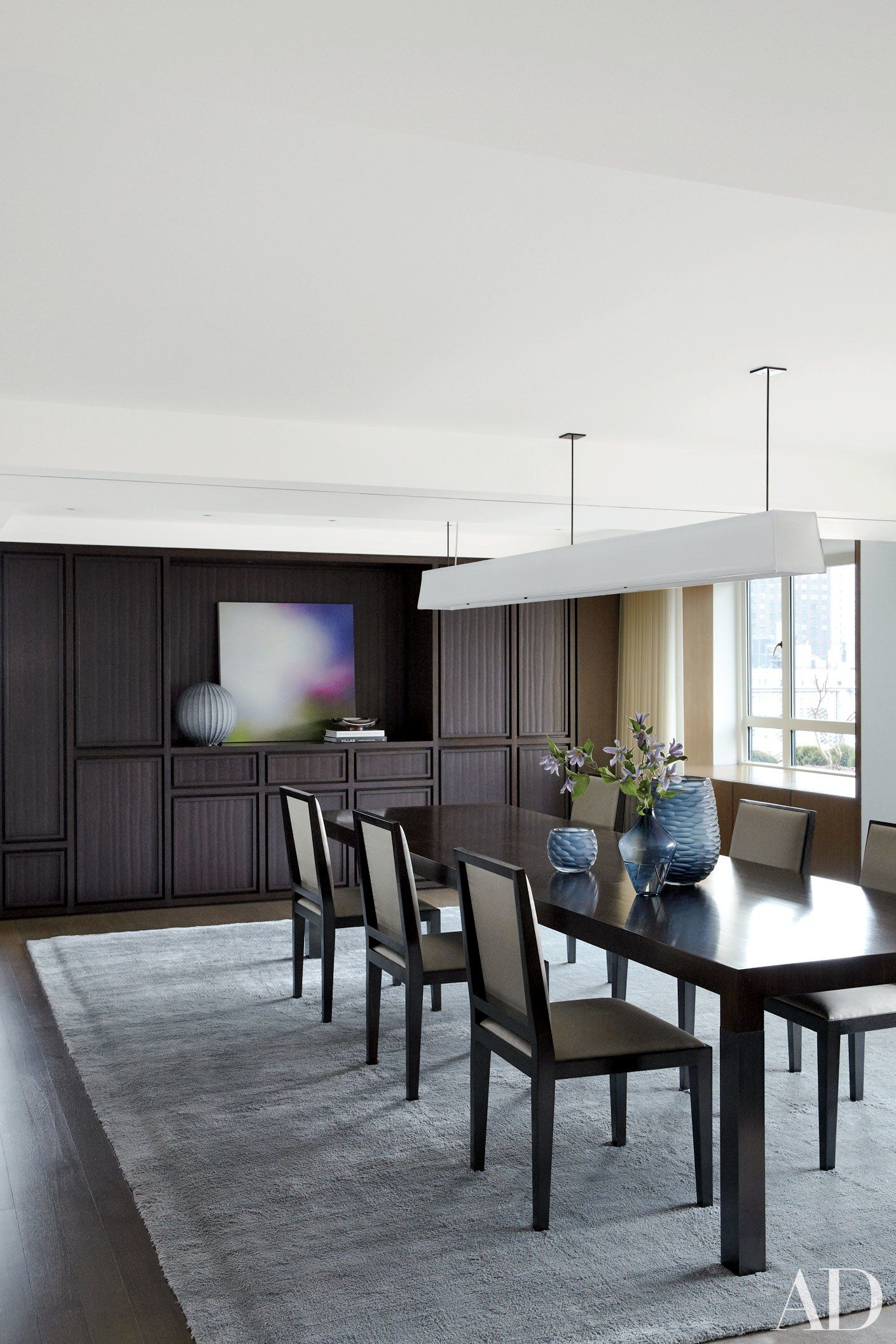 Sophisticated Dining Room Ideas For Your Home Design: Sophisticated Dining Room Decor By AD100 Designers