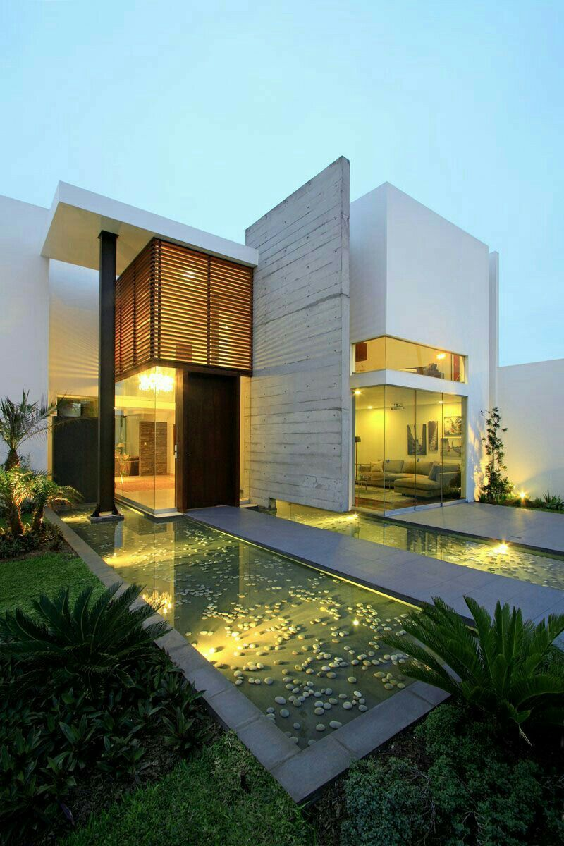 Exquisite use of materials. The design of the house was beautiful ...