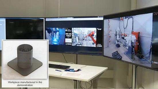 Robôs virtuais vão controlar fábrica digital do futuro