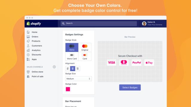 Just Arrived Trust Badge Ecommerce App Ecommerce Shopify Design