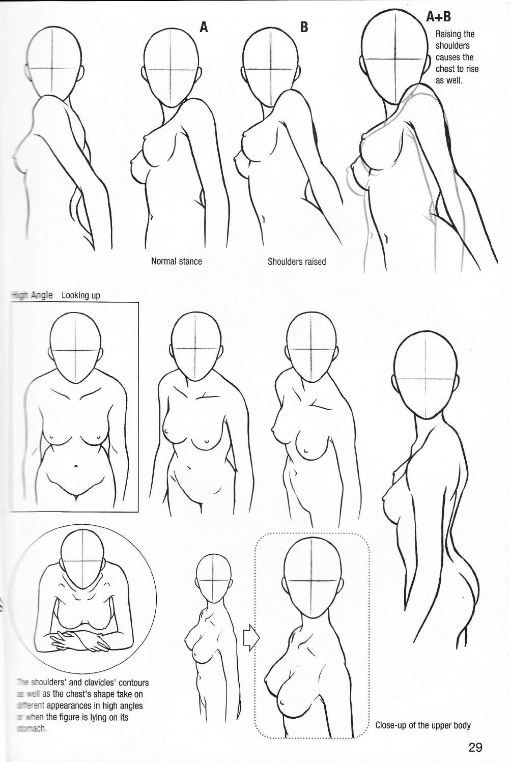More how to draw manga vol 2 penning characters | Anatomía, Dibujar ...
