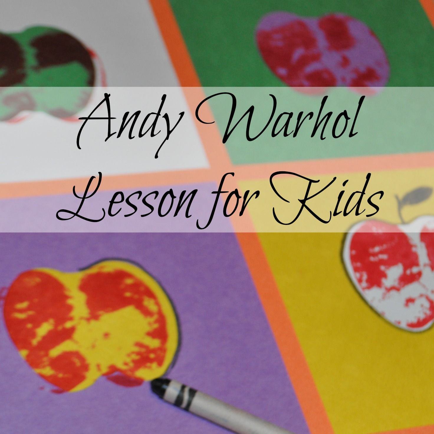 Andy Warhol and Pop Art. Exploring Artists – Art lessons for ...