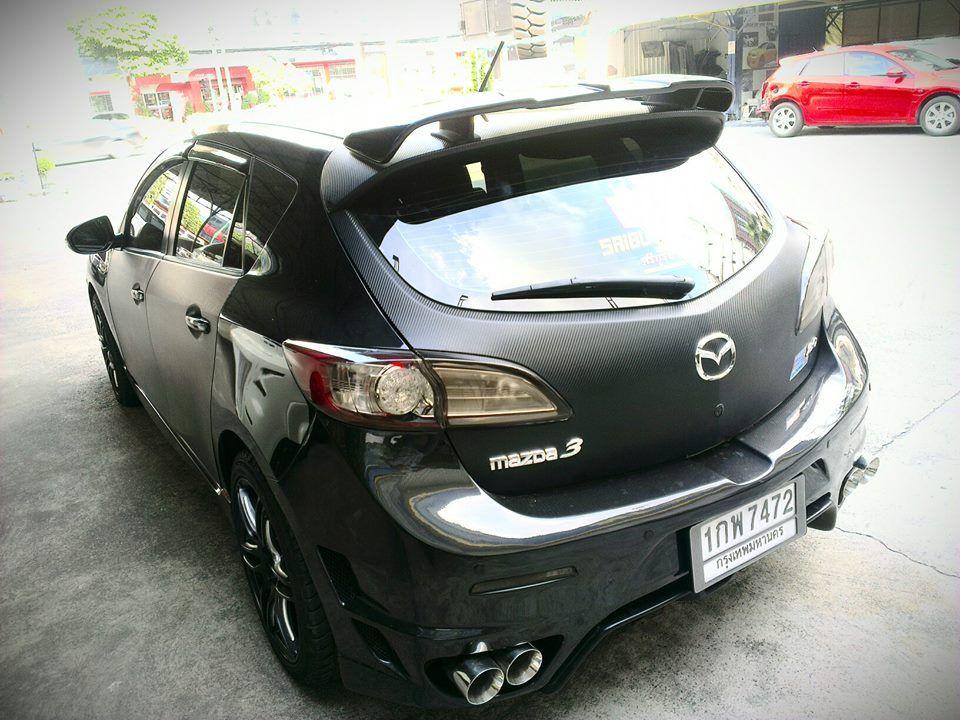 Nice 2nd Gen Rear Dual Exhaust Bumper And Interesting Spoiler Mazda 3 Hatchback Mazda 3 Mazda 3 Sedan