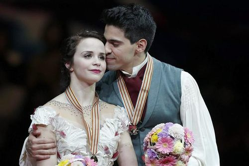 2014 World Champions Anna Cappellini Luca Lanotte of Italy