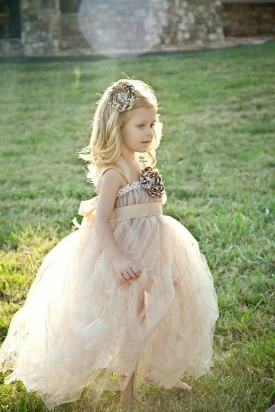 Dress For Little Girl Vintage Flower Girl Dresses Wedding Gowns Floor Length Lace With Handmade Flower White Organza Flowergirl Dresses For Wedding Al51117 Flower Girl Tulle Dresses From Weddingmuse, $77.44  Dhgate.Com
