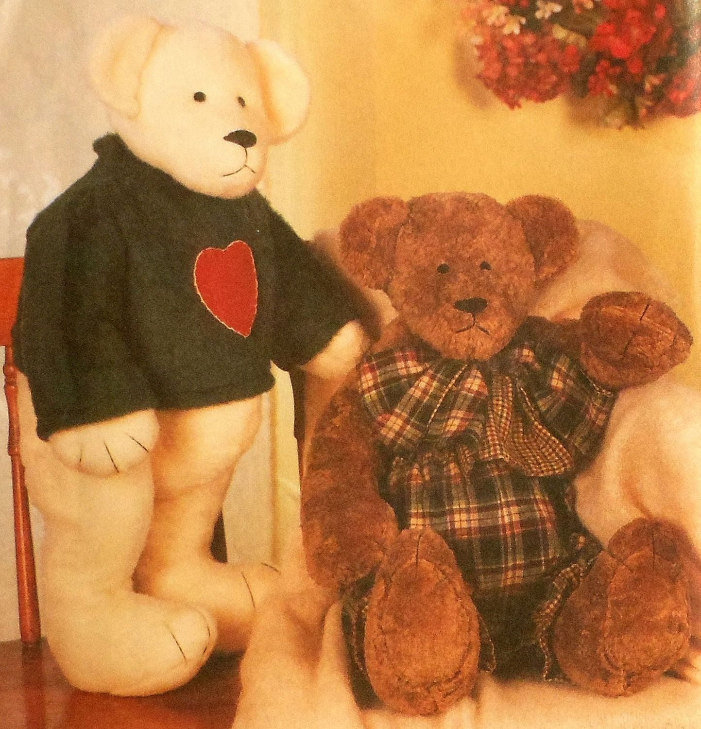 Sewing patterns for teddy bears image collections craft jointed teddy bear sewing pattern sewing pinterest teddy jointed teddy bear sewing pattern jeuxipadfo image collections jeuxipadfo Images