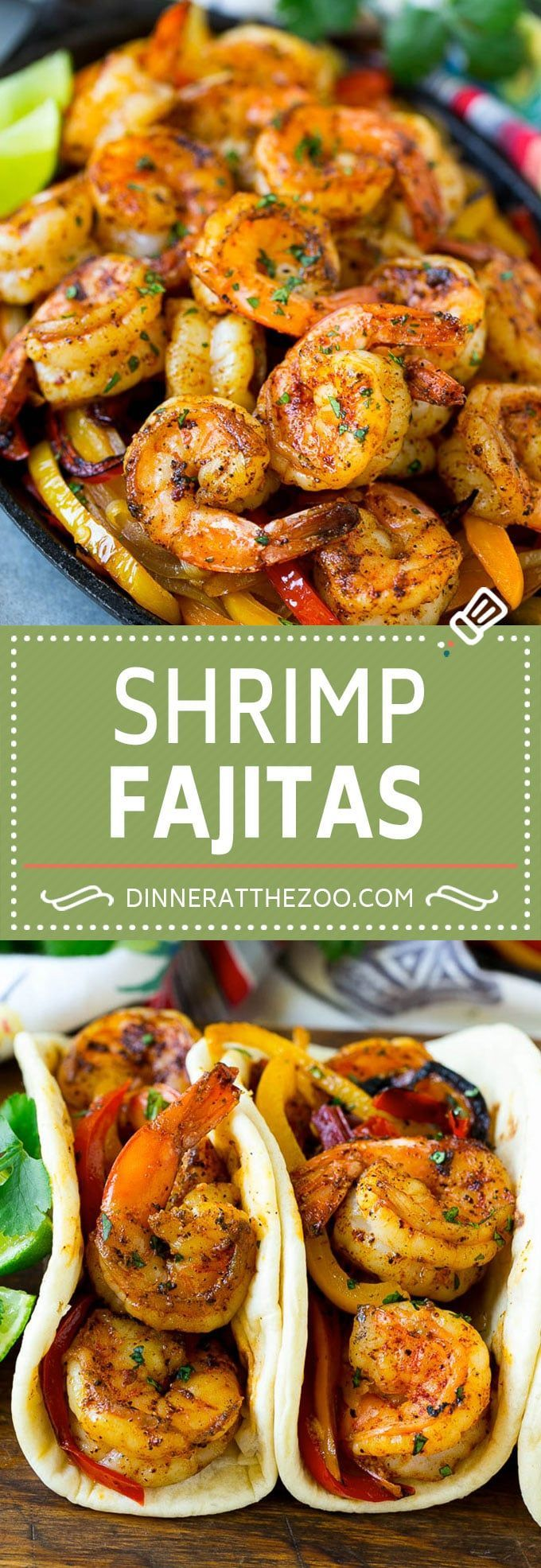 Shrimp Fajitas Recipe | Mexican Shrimp | Mexican Fajitas #fajitas #shrimp #mexic... - Dinner at the Zoo Recipes - #dinner #Fajitas #mexic #Mexican #Recipe #Recipes #Shrimp #Zoo #seafooddishes