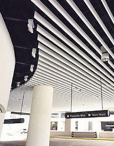 Metal ceiling strip FIN MATE Gordon Inc.