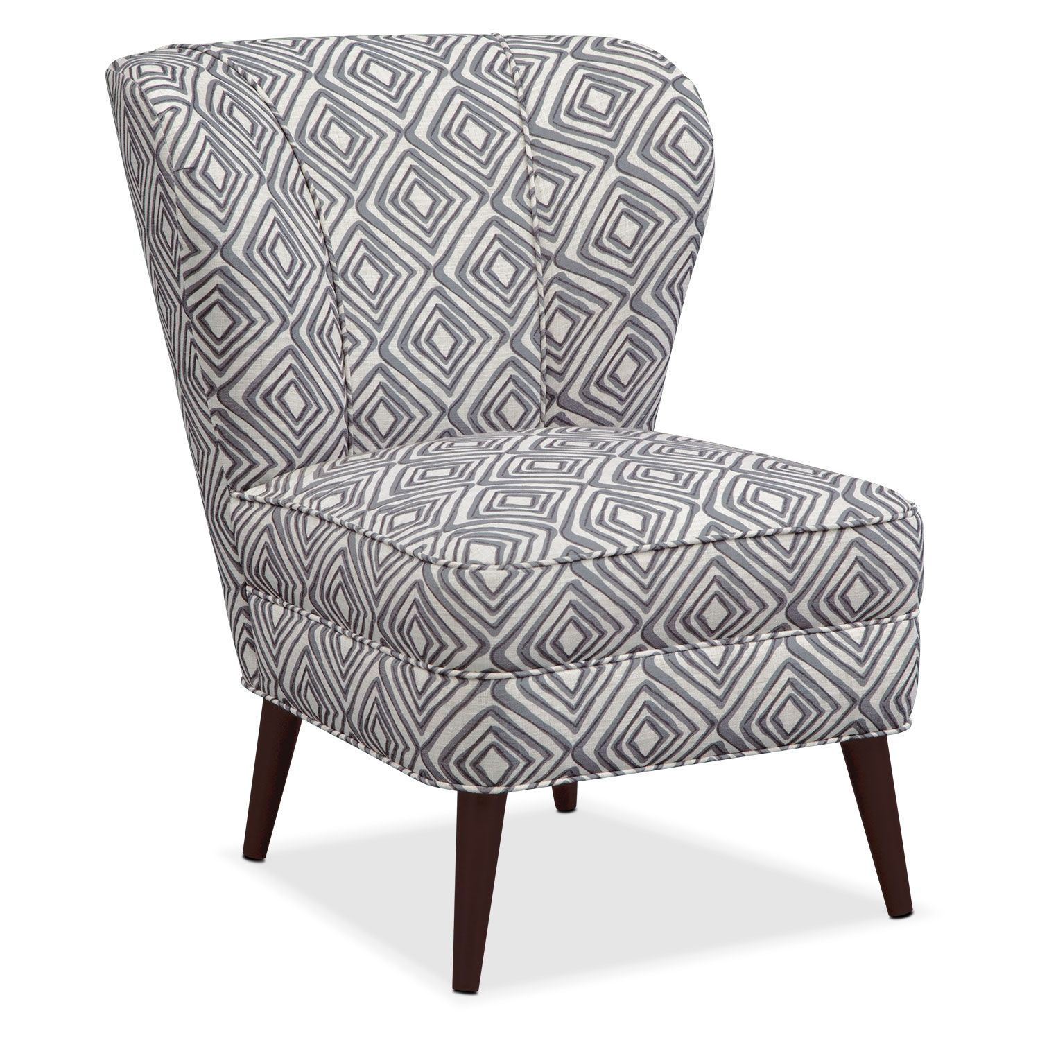 Best Living Room Furniture Jules Accent Chair Print 400 x 300