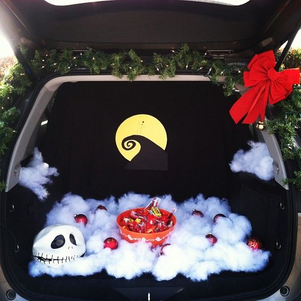 Trunk Halloween Decorating Ideas: Trunk Or Treat -- The Nightmare Before Christmas