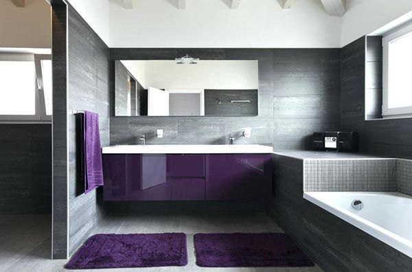35 Best Purple Bathroom Ideas Bathroom Ideas Pinterest Purple   Purple  Bathroom Ideas