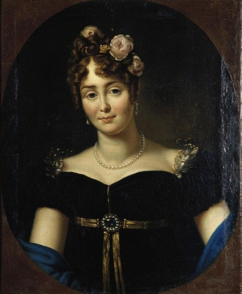1812 Portrait of Marie Walewska by Francois Gerard Ампир