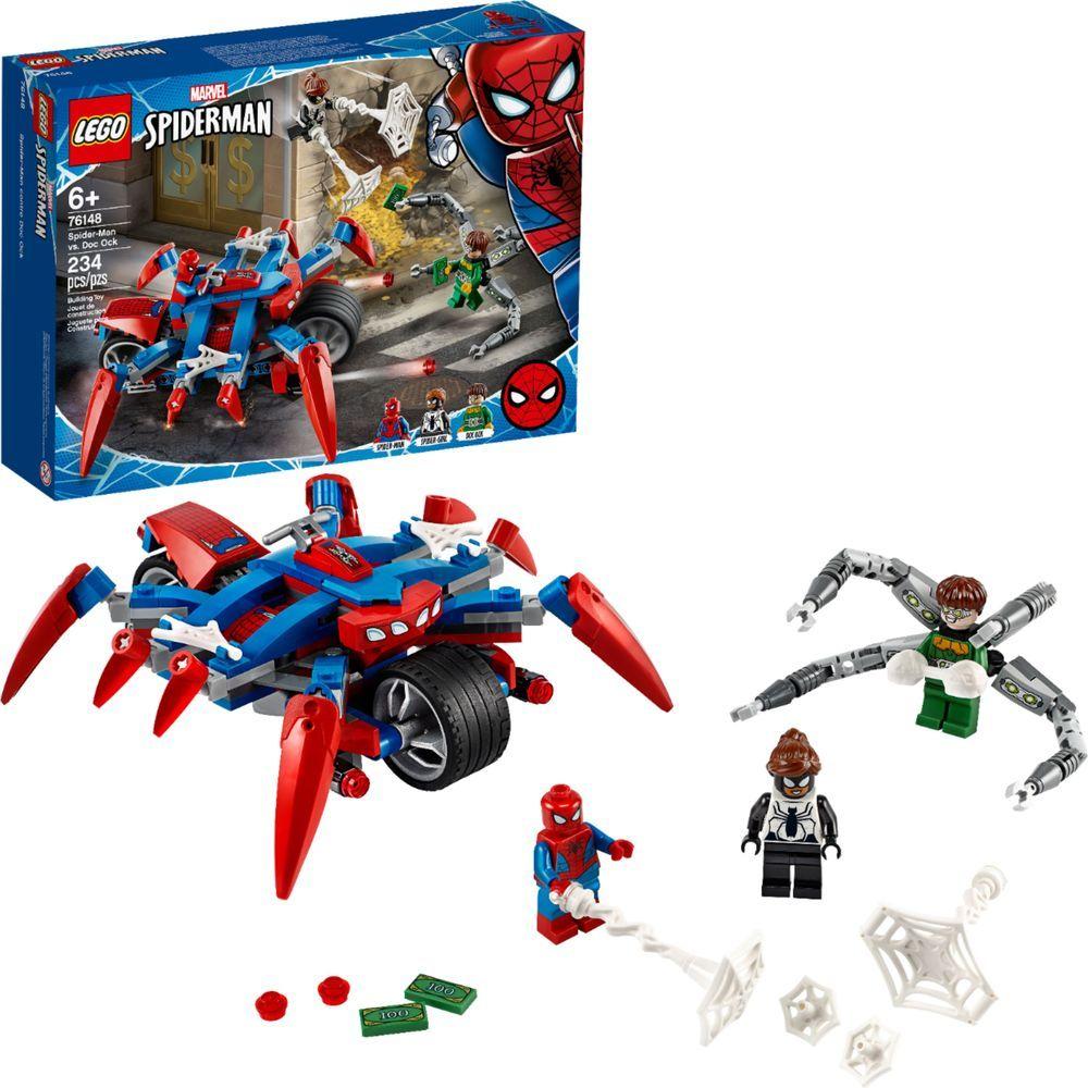 Lego Marvel Spider Man Spider Man Vs Doc Ock 76148 6289066 Best Buy Lego Super Heroes Lego Spiderman Lego Marvel