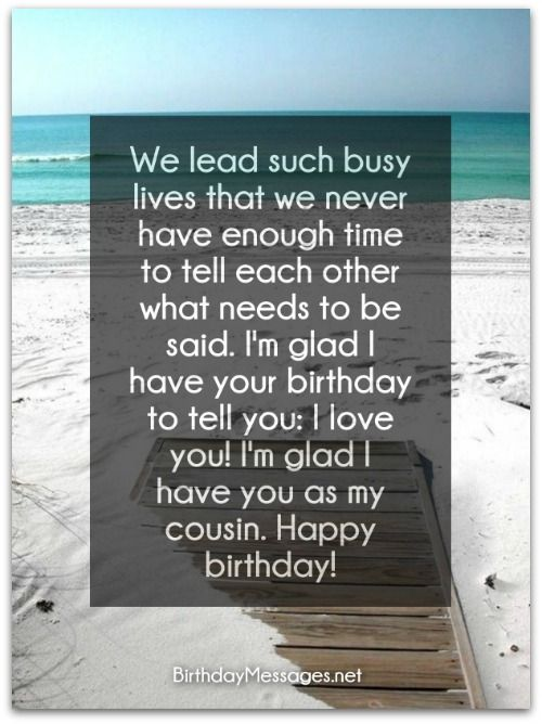 Birthday Wishes For Cousins ~ Cousin birthday wishes messages for cousins christian pinterest