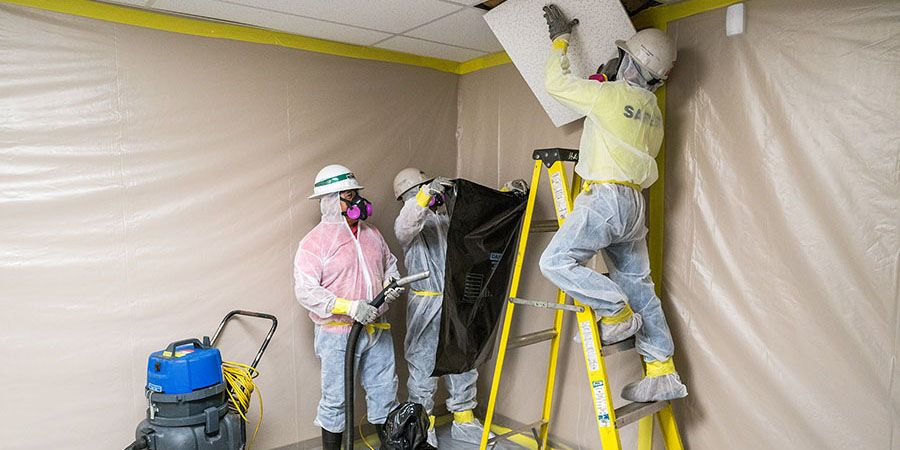 Asbestos Testing Survey And Removal In Southampton Area Asbestos Removal Asbestos Lead Paint Removal