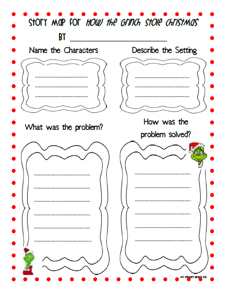 How The Grinch Stole Christmas Worksheets - Thedesigngrid
