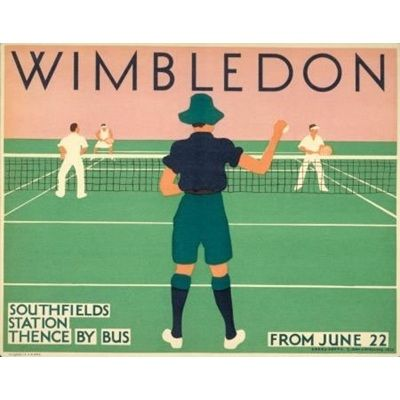 my favorite sporting event of the year... via the London Transport Museum