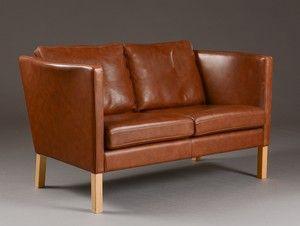 Arne Vodder Two Seater Sofa Model Av 59 Lauritz