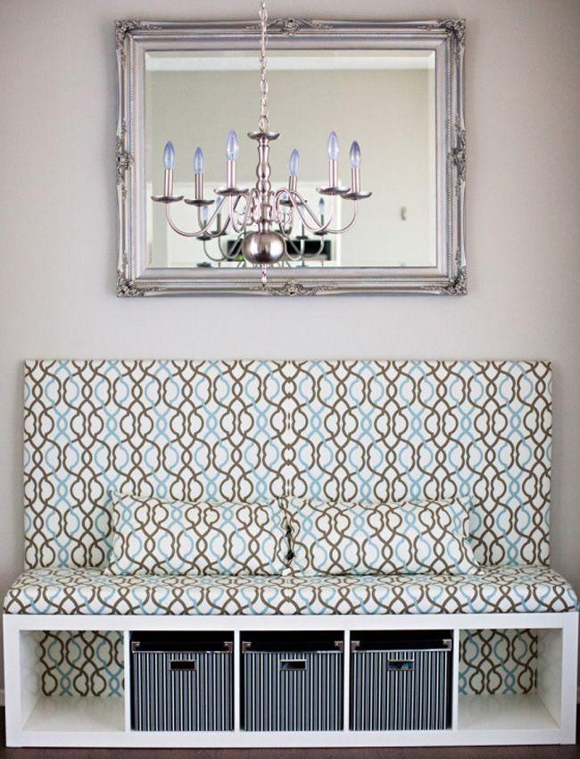 diy bookshelf banquette pinterest flure wohnideen und m bel. Black Bedroom Furniture Sets. Home Design Ideas
