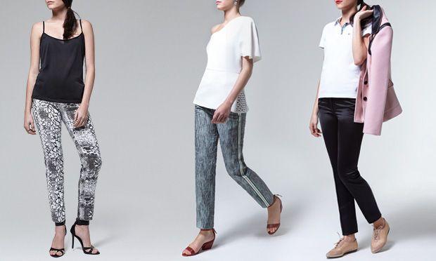 As calças que vamos usar no verão 2014/2015 - croped