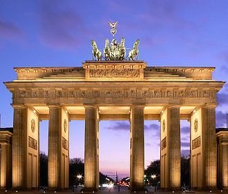 Brandenburger Gate Berlin Germany Best Class Trip Ever Thank You For Making My Last Days In Germany The Best Brandenburg Gate Berlin City Famous Structures