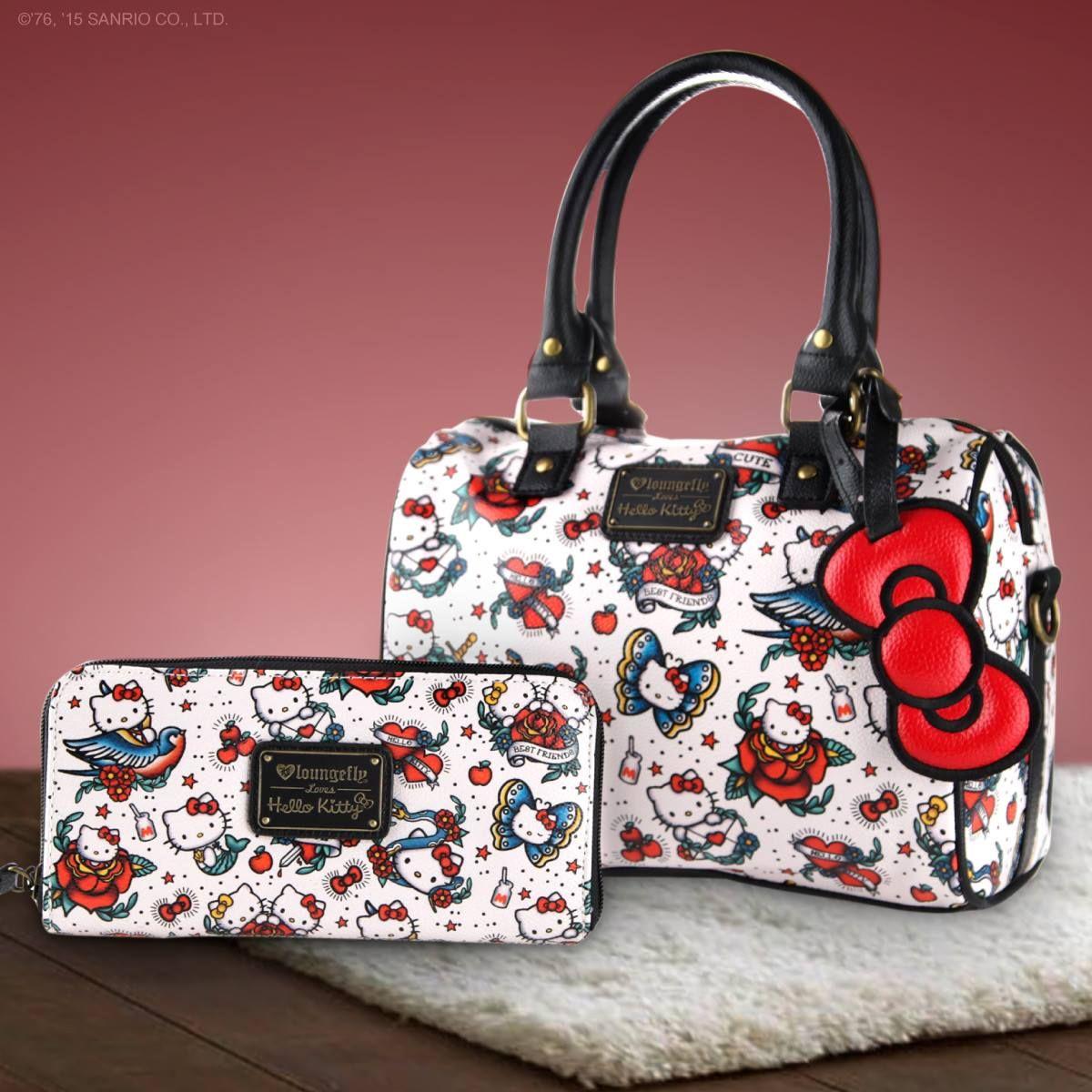 HELLO KITTY /& FRIENDS 40TH ANNIVERSARY GIRL/'S PURSE CANVAS SHOULDER BAG NWT!