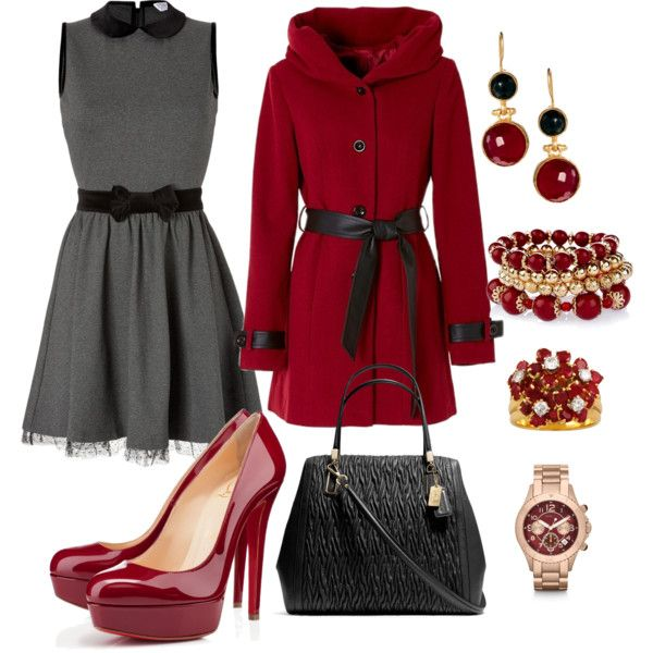 Gray and red!